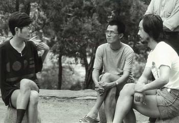 (From left) Lu Peng, Shu Qun, Ren Jian