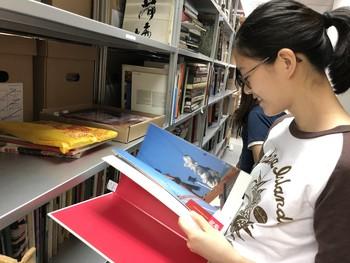 Image: Visit to Ha Bik Chuen Archive, Internship Programme 2019.