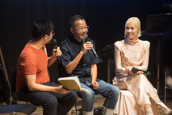 Image: Concert & Sharing Session of <i>Connective Memories</i>, JC Cube Tai Kwun, 2021. Photo:  Moomen10 Photography.