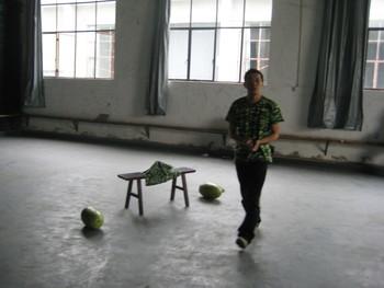 Photo documentation of performance by Kai Lam (Part 2) (Set of 44 Photographs)