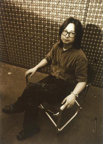 Photograph of Ding Yi