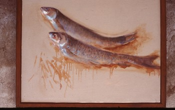 Painting of Two Fish
