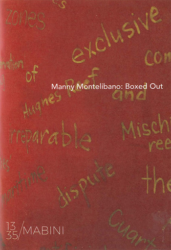Manny Montelibano: Boxed Out