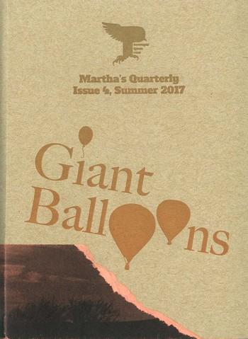 Martha's Quarterly, Issue 4, Summer 2017_Cover
