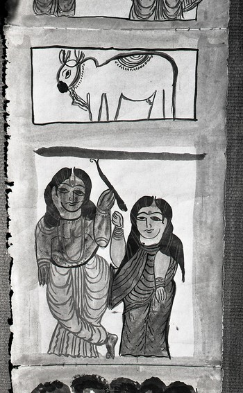 Pata Paintings of West Bengal and Orissa (1987-1988)—Reel 7