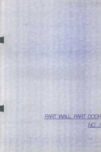 Part Wall, Part Door No.2 Czar Kristoff_Cover