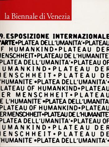 La Biennale di Venezia. 49. Esposizione Internationale D'Arte. 1