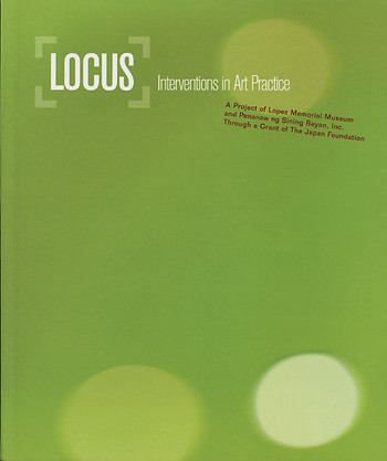 Locus: Interventions in Art Practice