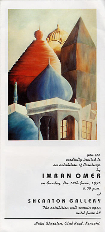 An Exhibition of Paintings by Imran Omer