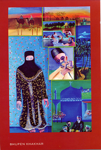 Contemporary Indian Art: Gulammohammed Sheikh & Bhupen Khakhar