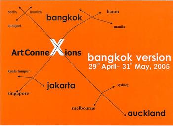 ArtConneXions - Bangkok Version: Bangkok, Jakarta, Auckland