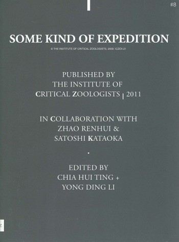 The Institute of Critical Zoologists #8: Some Kind of Expedition