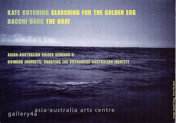 Kate Cotching: Searching for the Golden Egg & Dacchi Dang: The Boat