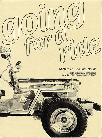 Going for a Ride - Project M201: In God We Trust