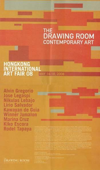 The Drawing Room Contemporary Art: Hong Kong International Art Fair 08