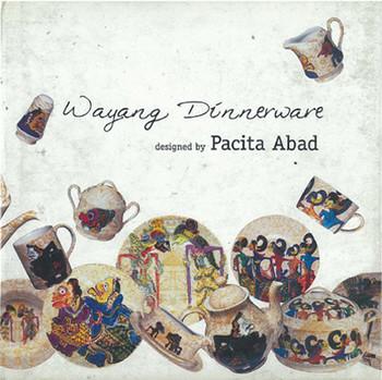 Wayang Dinnerware designed by Pacita Abad