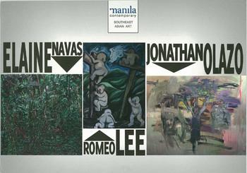 Elaine Navas, Jonathan Olazo and Romeo Lee