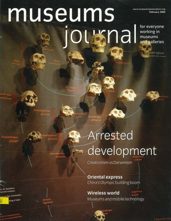 Museums Journal (All holdings in AAA)