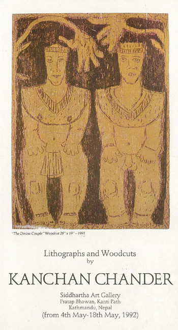 Lithographs and Woodcuts by Kanchan Chander