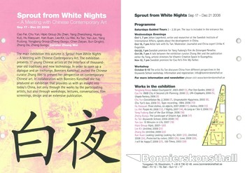 Sprout from White Nights - A Meeting with Chinese Contemporary Art