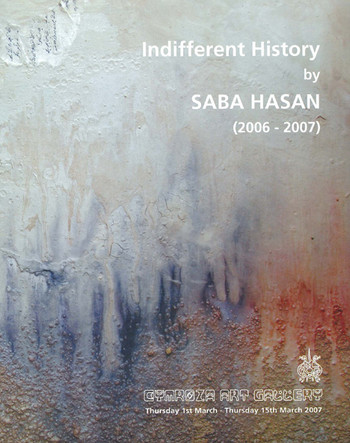Indifferent History by Saba Hasan