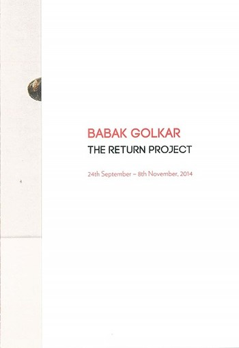 Babak Golkar: The Return Project