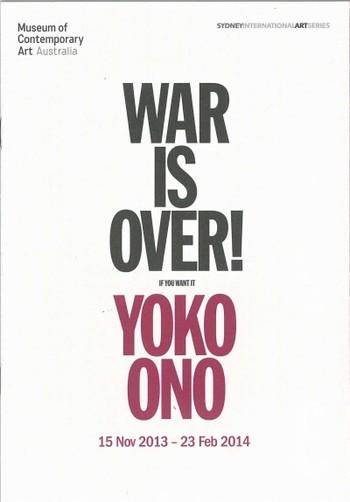 Yoko Ono: War is Over! (If You Want it)