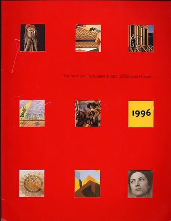 The American Federation of Arts: Exhibition Program 1996