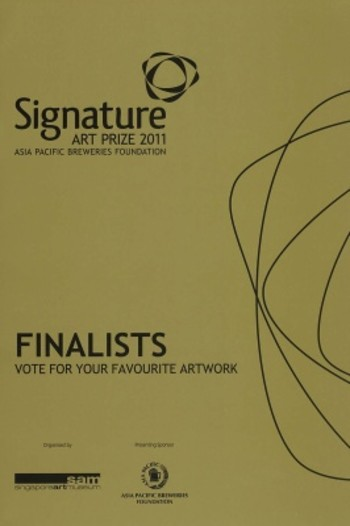 Signature Art Prize 2011: Asia Pacific Breweries Foundation