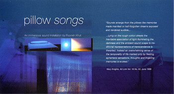 Pillow Songs