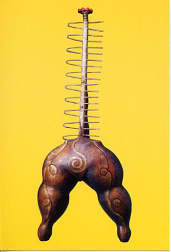Indira Freitas Johnson: Sculpture & Found Objects