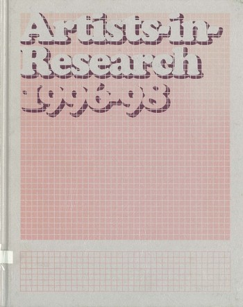 Artists-in-Research 1996-98