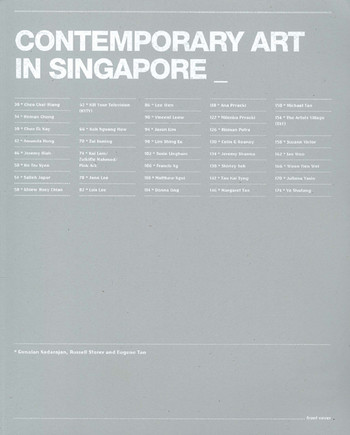 Contemporary Art in Singapore