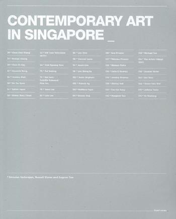 Contemporary Art in Singapore