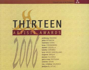 13 Artists Awards 2006