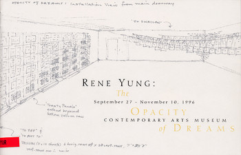 Rene Yung: The Opacity of Dreams