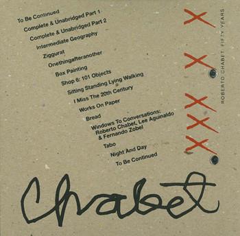 Roberto Chabet: Fifty Years