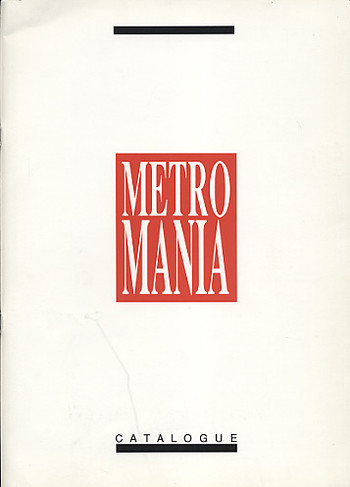 Australia & Regions Artists' Exchange: Metro Mania
