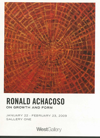 Ronald Achacoso: On Growth and Form