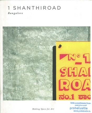 1 Shanthiroad Bangalore: Making Space for Art