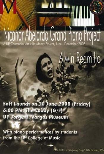 Nicanor Abelardo Grand Piano Project
