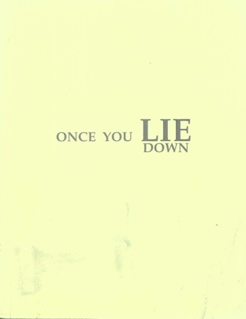Once You Lie Down