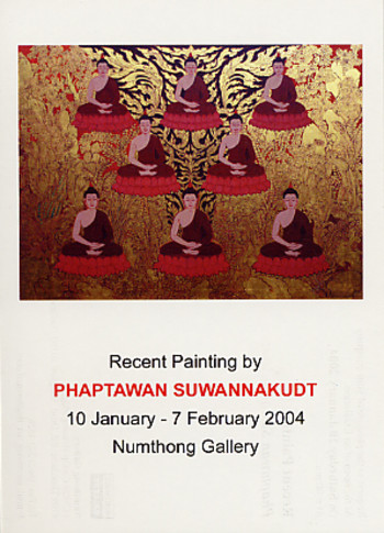 Recent Painting by Phaptawan Suwannakudt