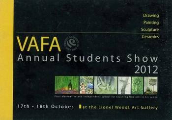 VAFA Annual Students Show 2012