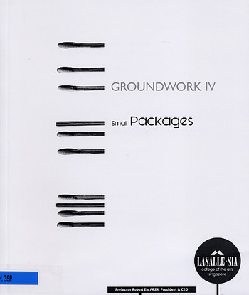 GROUNDWORK IV: Small Packages