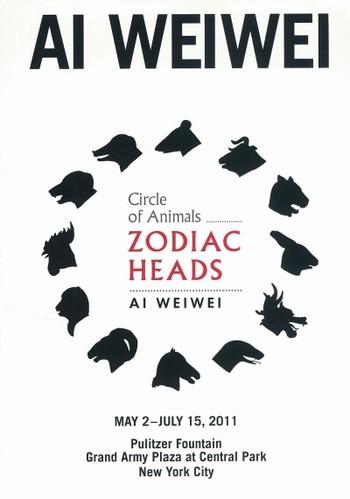Ai Weiwei: Circle of Animals/Zodiac Heads