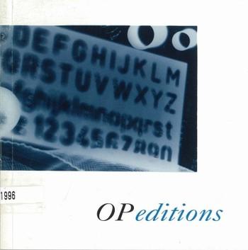 OP editions 9602