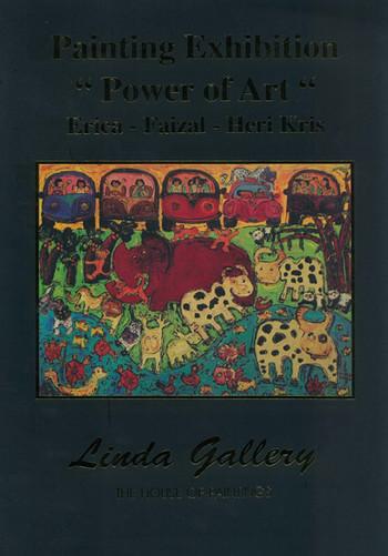 Painting Exhibition 'Power of Art': Erica-Faizal-Heri Kris