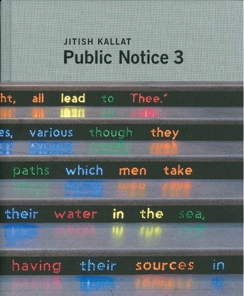 Jitish Kallat: Public Notice 3