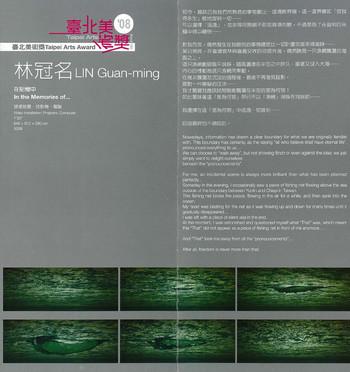 2008 Taipei Arts Award: Lin Guan-Ming
